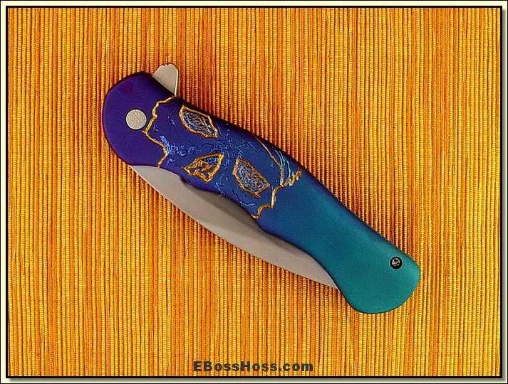 Matt Cucchiara Large Engraved Flipper