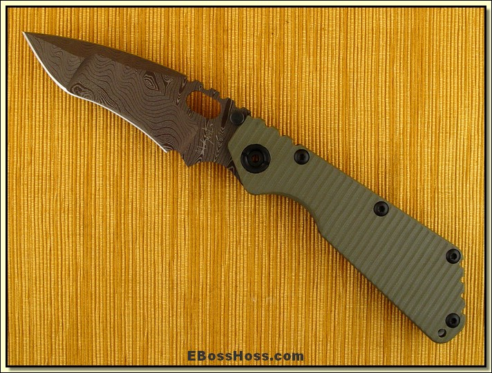 Mick Strider MSC SMF - Brown Damascus