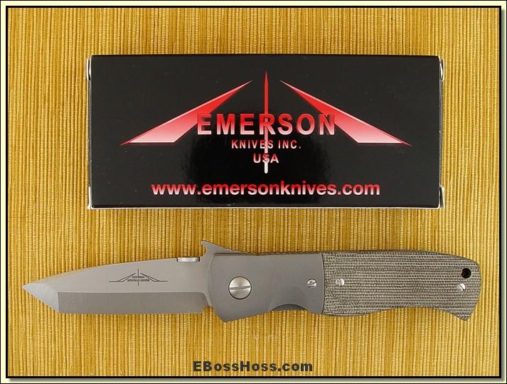 Ernie Emerson CQC-7 w/Wave