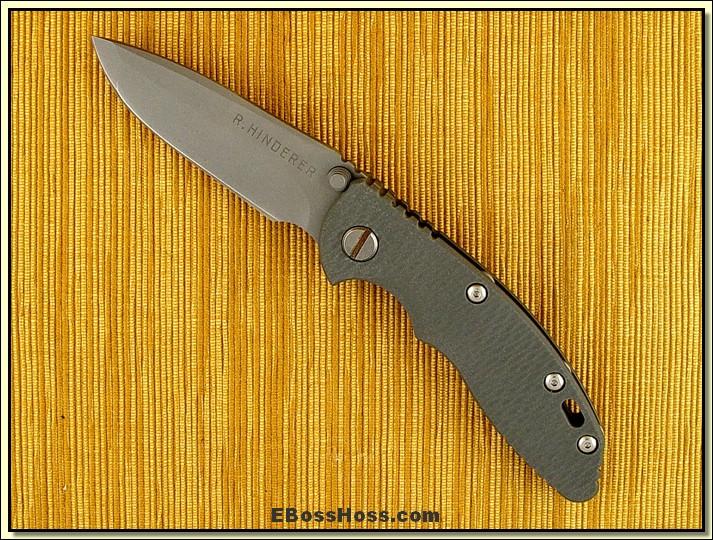 Rick Hinderer XM-18 Folder
