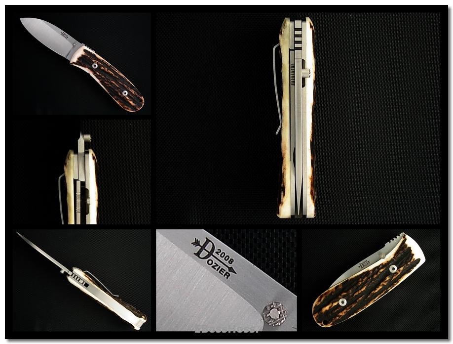 Bob Dozier 'New Model' 3 1/8-inch Deluxe Folder