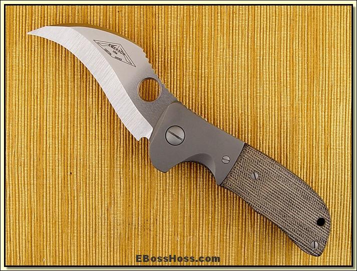 Ernie Emerson CQC-9 Bolstered Eagle