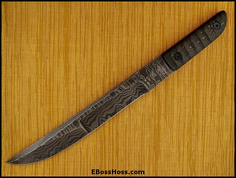 Mick Strider MSC Forged Damascus Nightmare Short Sword