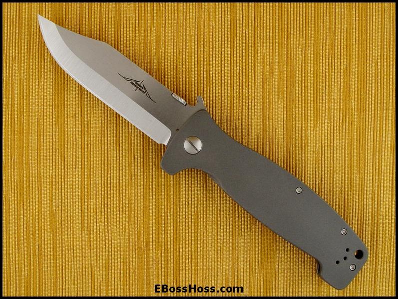 Ernie Emerson Custom CQC-12 - TI Framelock