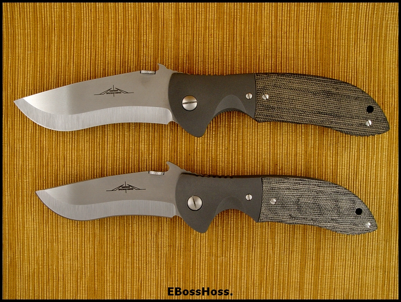 Ernie Emerson Grail Pair - Super Commander & a Custom Commander