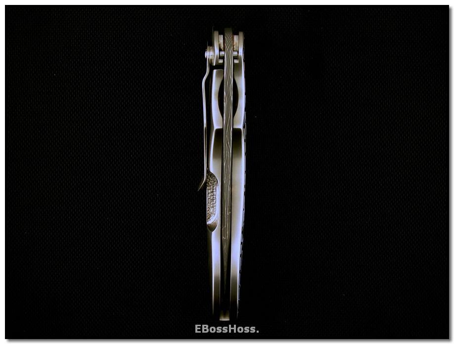 Phil Boguszewski Deluxe Framelock Cobra - 'Cracked Ice'