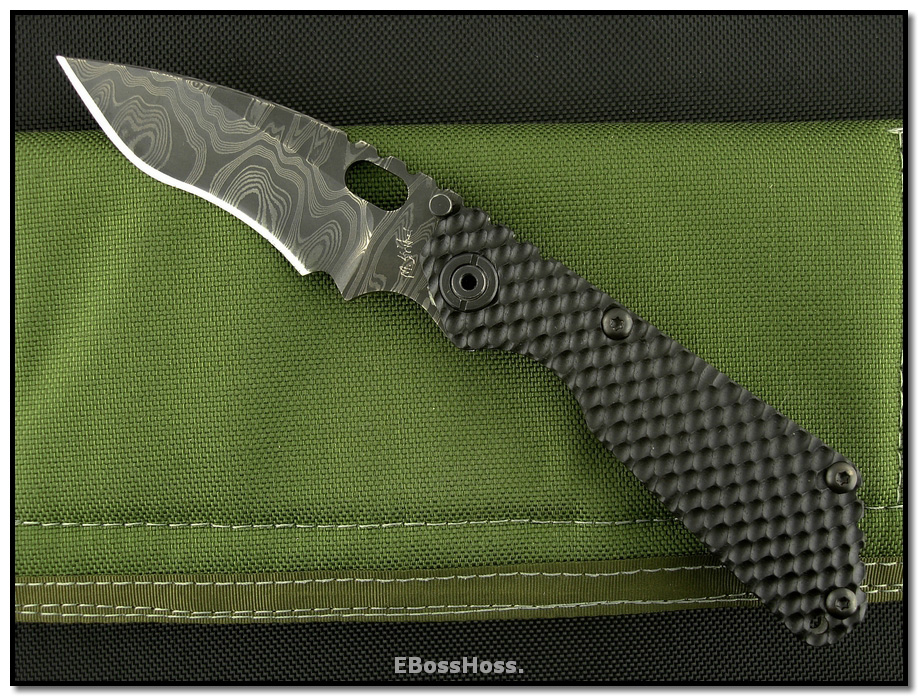 Mick Strider MSC Custom SnG Recurve - MSC Damascus