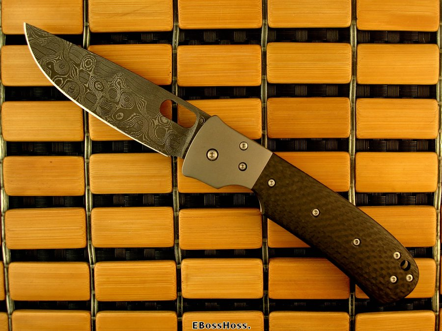 Tom Mayo Deluxe Bolstered TNT Linerlock