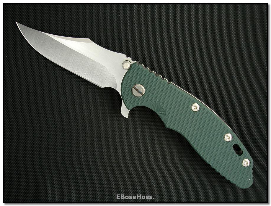 Rick Hinderer XM-18 Linerlock Custom Ground Bowie