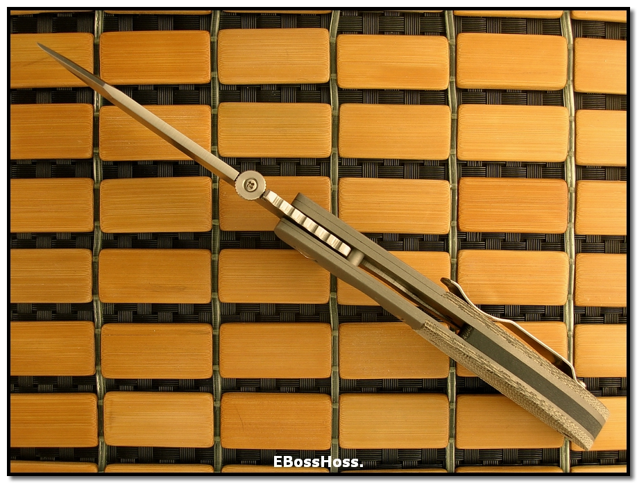 Ernie Emerson CQC-8 Custom w/Wave