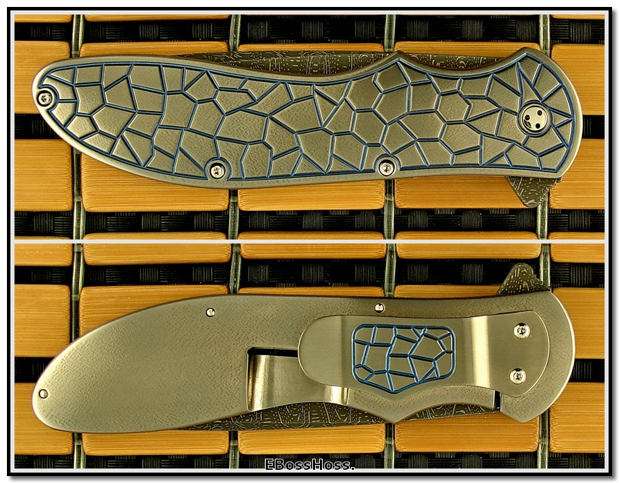 Phil Boguszewski Deluxe King Cobra Framelock Prototype