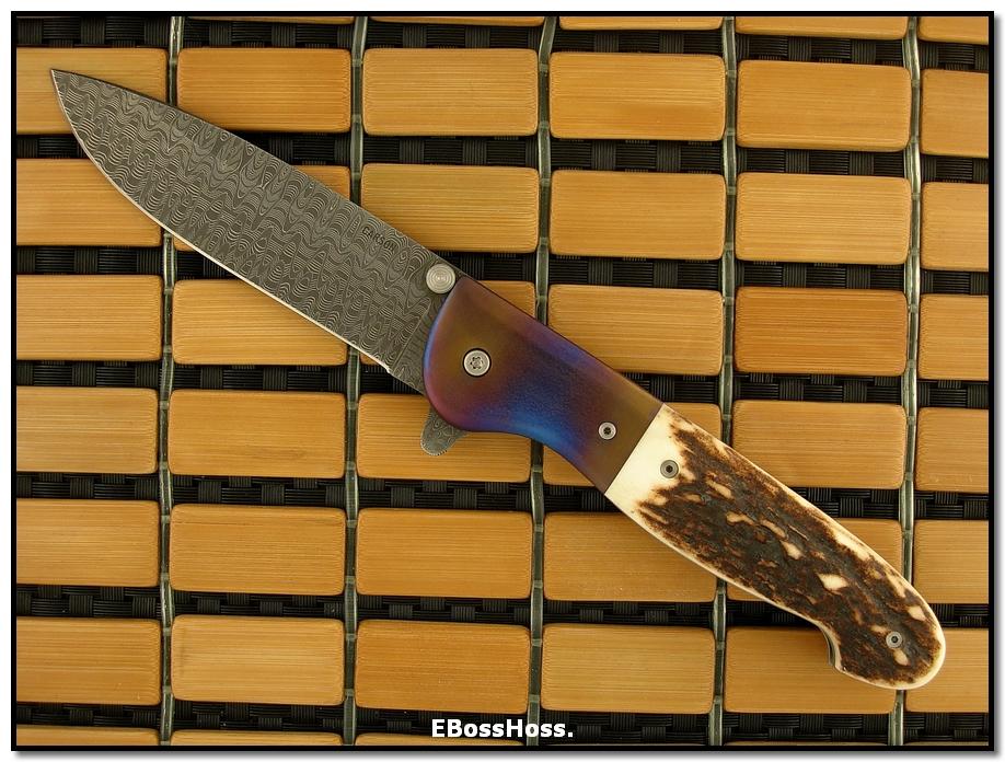 Kit Carson Deluxe Model 26 Flipper (in Friggen' STAG!!!)