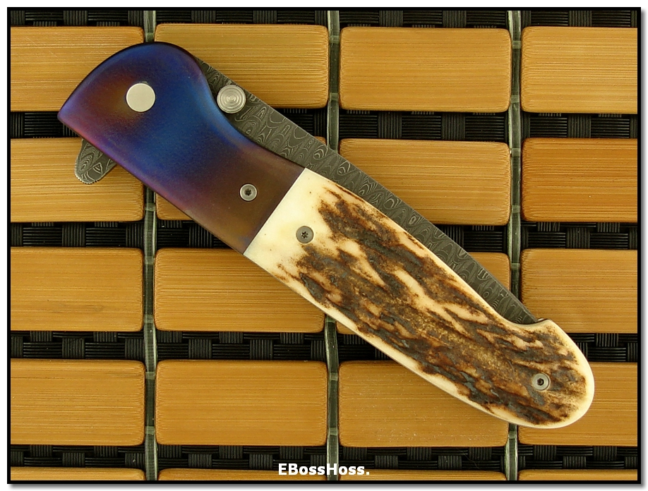 Kit Carson Deluxe Model 26 Flipper (in Friggen' STAG!!!)