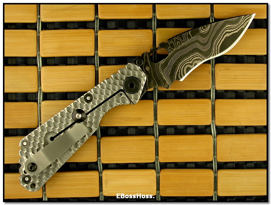 Mick Strider MSC Custom SnG -- DGG / MSC Damascus