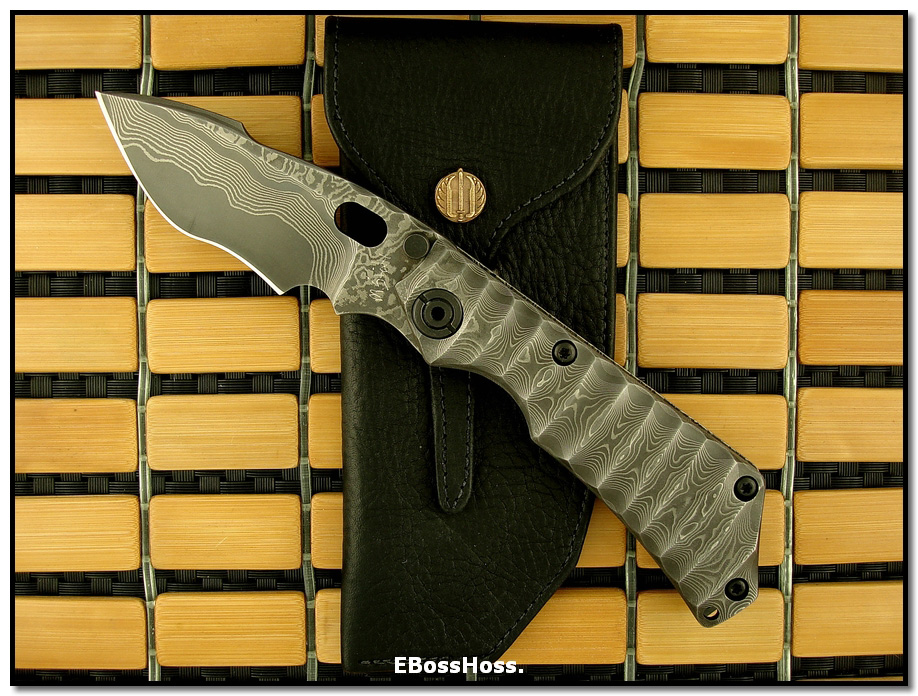 Mick Strider MSC All Damascus SnG - Harpoon