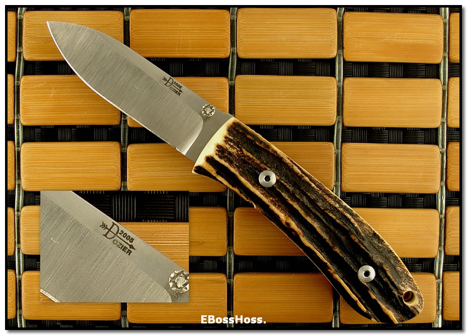 Bob Dozier Dlx. Folding Hunter - Stag