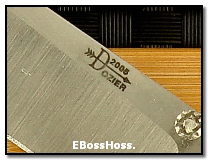 Bob Dozier Dlx. Folding Hunter - Stag