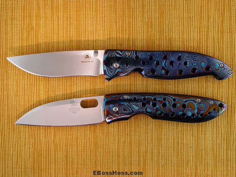 Tom Mayo Timascus Folders