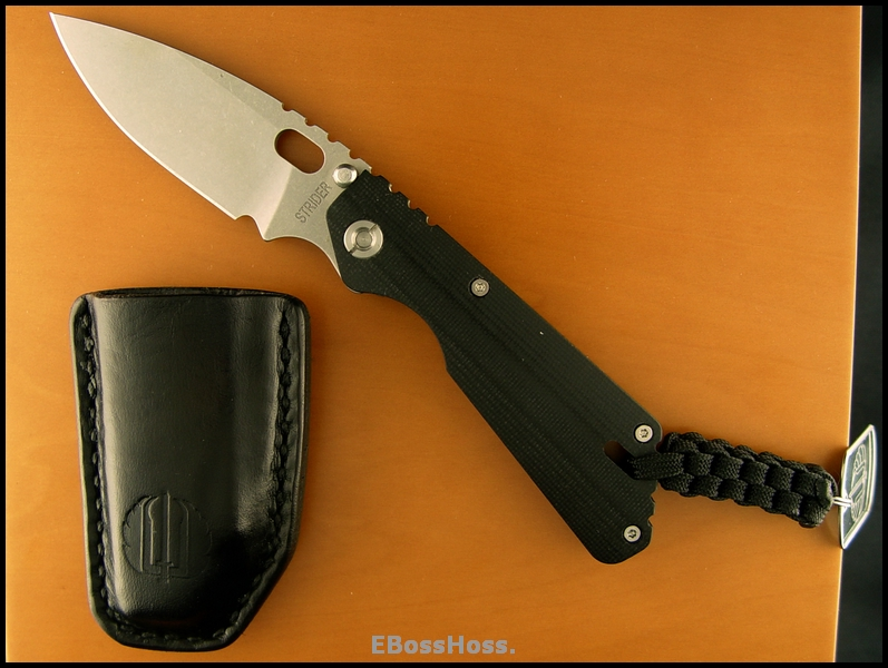 Strider PT CC 'Doggie' -- Lifter's Leather
