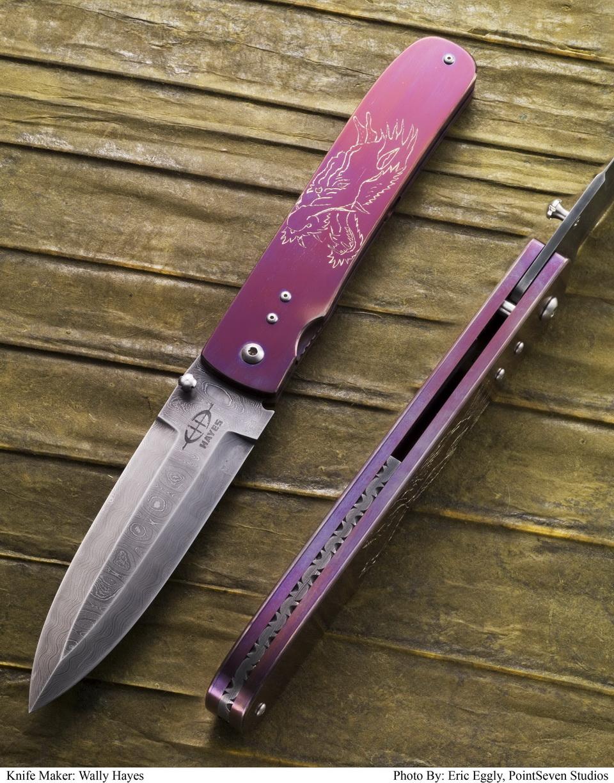 Hayes Prototype Dagger Framelock Folder