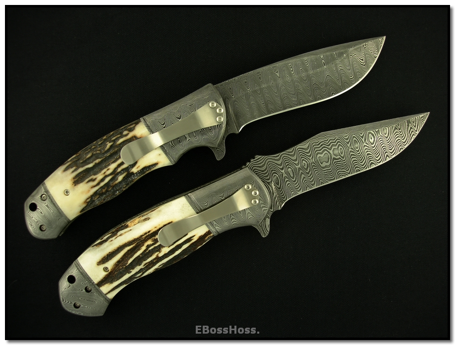 D.B. Fraley Deluxe XXL Stag Double-Bolstered Flippers