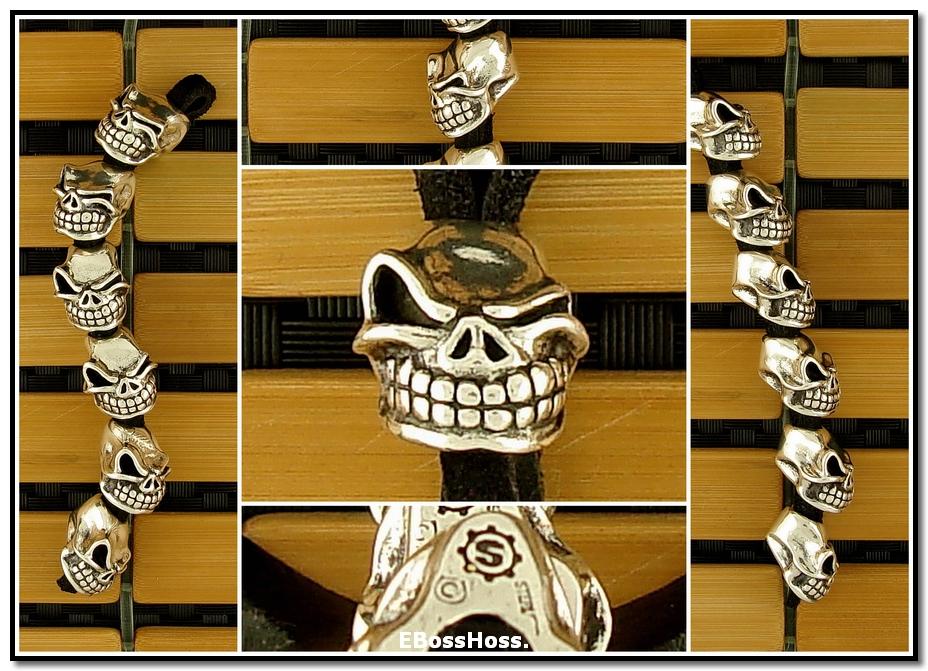 Starlingear Sterling Silver Slickster Beads