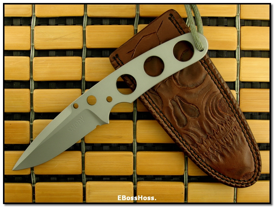 Mike Snody Fixed Blade (Brand New Model)