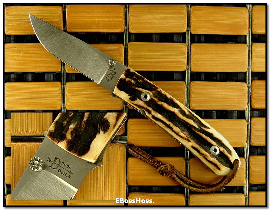 Bob Dozier Dlx. Small Folding Trapper