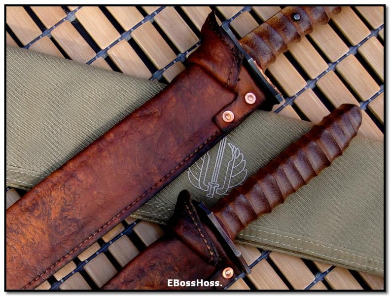 Mick Strider MSC Bowie Short Sword Set