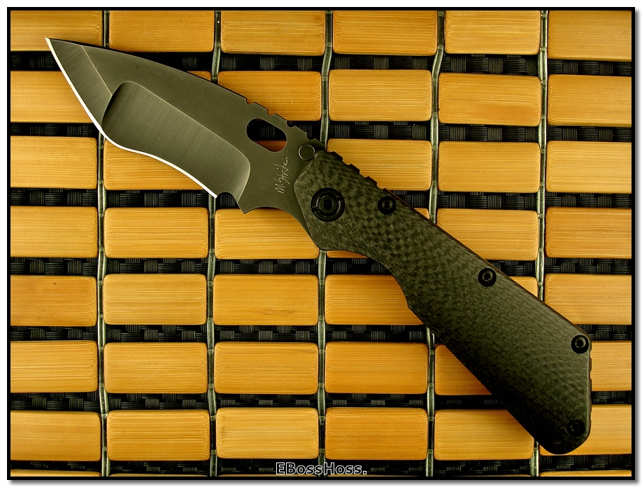 Mick Strider MSC Nightmare XL SnG - Carbon Fiber & Black