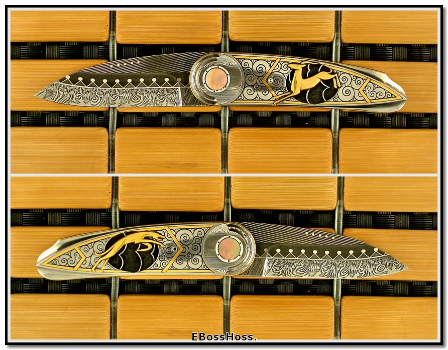 Owen Wood Art Deco Wharnecliffe - George, Tim Engraved