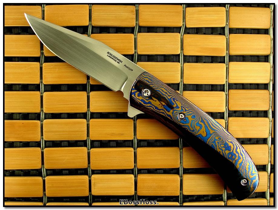 Phil Boguszewski Timascus King Classic Prototype