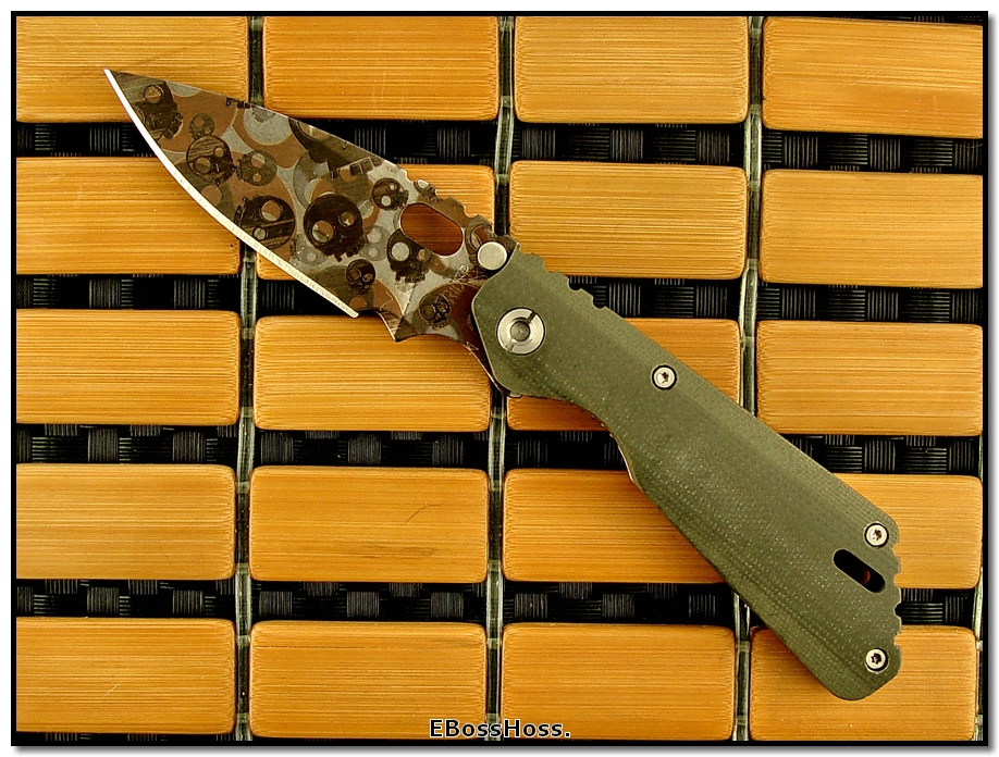 Strider TADGear T-Skull PT in OD Green