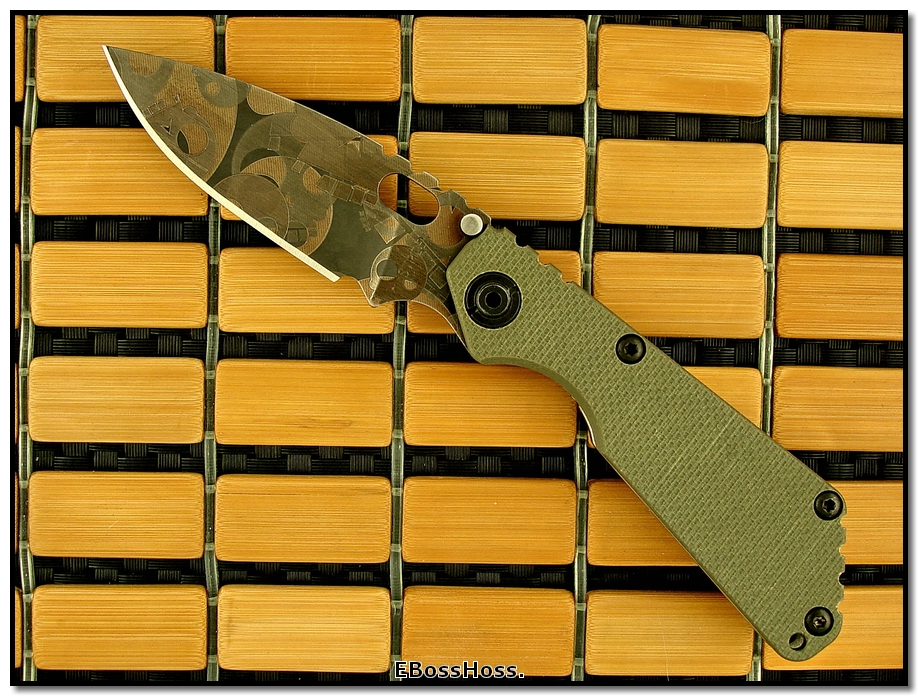 Strider SnG TADGear T-Skull Edition in OD Green