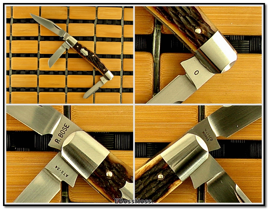 "Reese Bose 3 1/2"" Stockman Prototype (No. 0)"