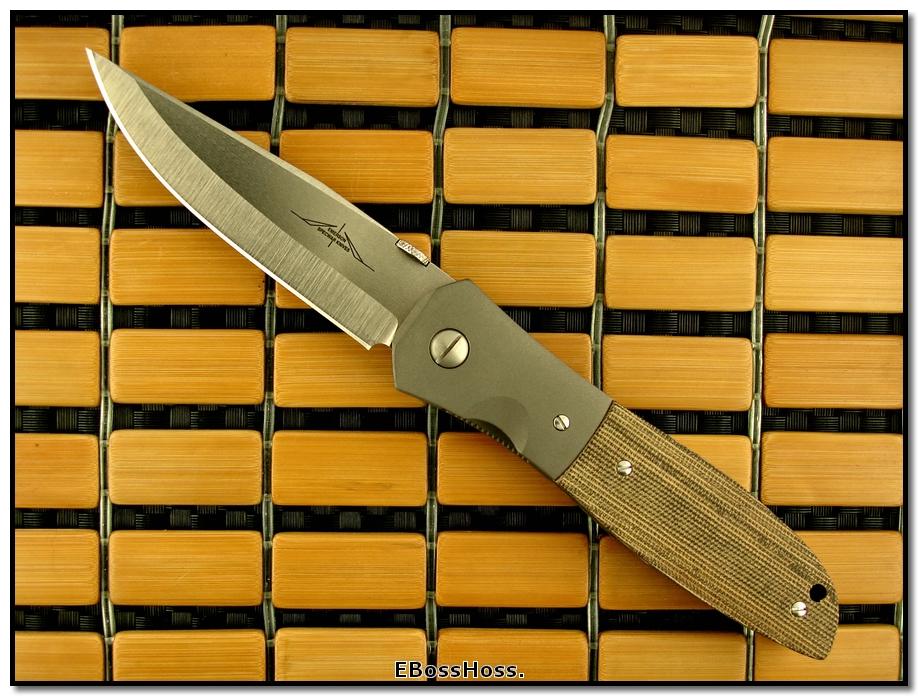 Ernie Emerson MV-3 (aka Viper 3) w/ Bolsters