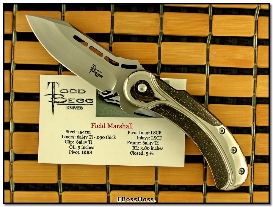 Todd Begg Field Marshall
