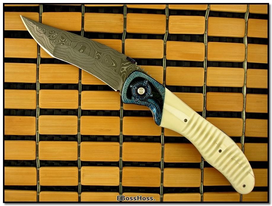 Sal Manaro Dlx. XL Bullseye - Blade Stock by Chad Nichols