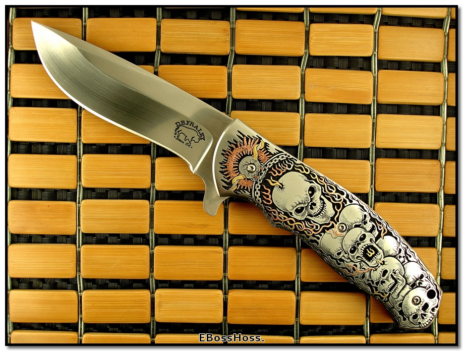 D.B. Fraley 5-in. Bladed Deluxe Torrent engraved by CJ Cai