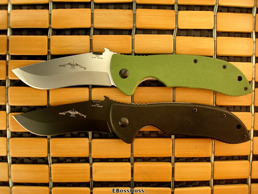 Emerson Pair (Black & Green) TADGear Super Commanders #033