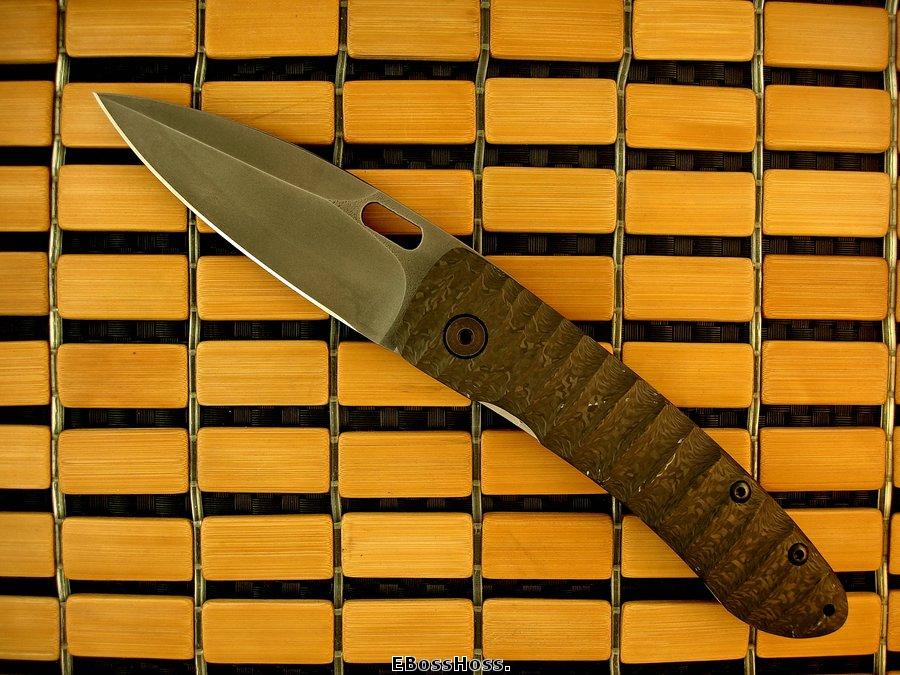 Mick Strider Custom AKAK Linerlock Proto - XP 1