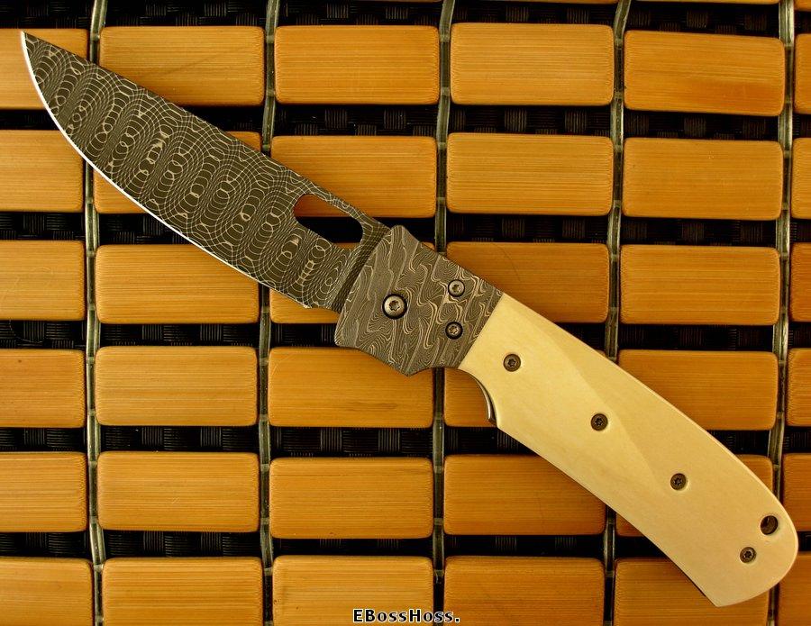 Tom Mayo Very Dlx. Large TNT - Ivory / Damascus / Damascus