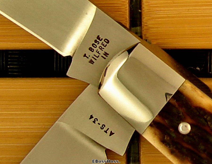 Tony Bose 2-Blade Dog Leg Jack (Camillus Pattern) Prototype