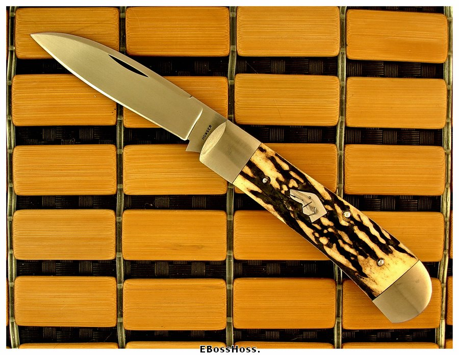 """John Howser 4"""" Dog's Head Modified Wharncliffe"""
