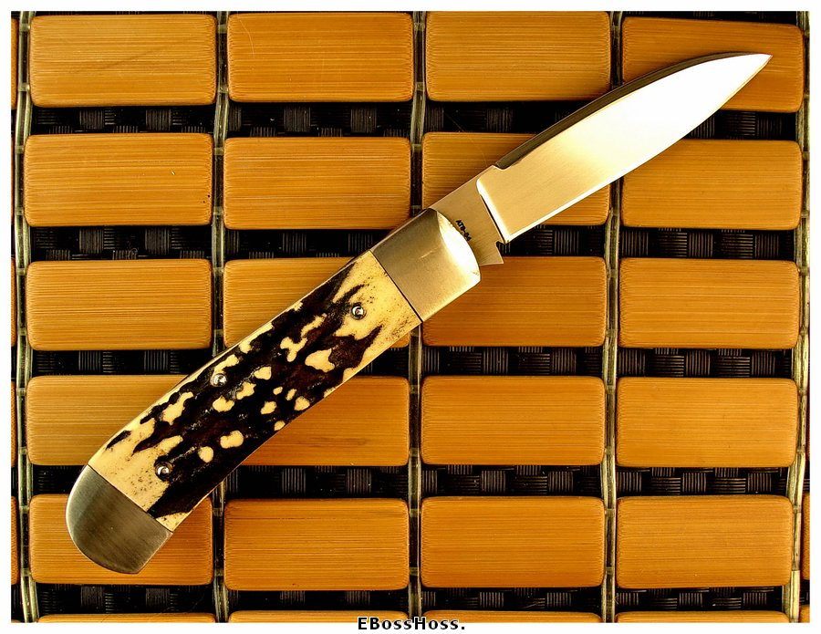 "John Howser 4"" Dog's Head Modified Wharncliffe"