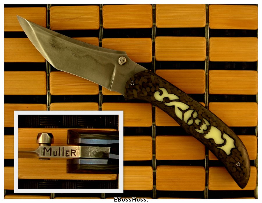 Jody Muller Custom 10,000 Year Knife