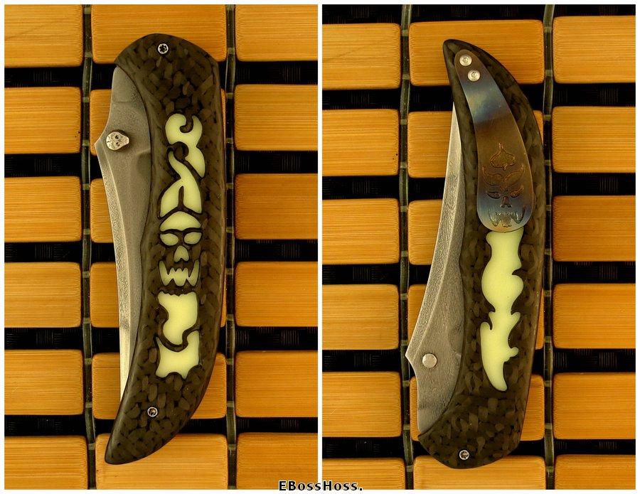 Jody Muller Custom 10,000 Year Knife