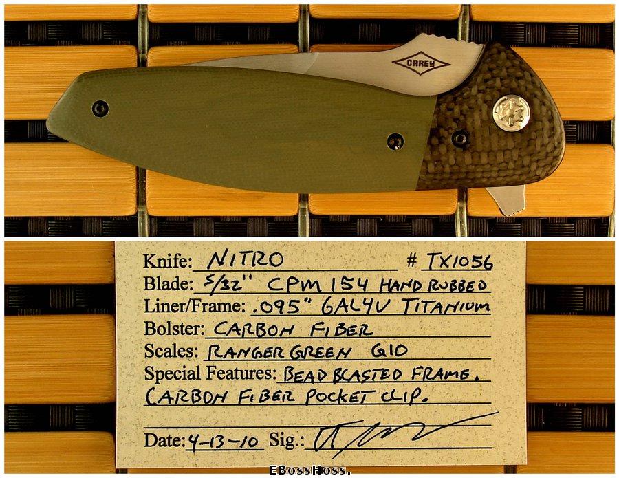 Peter Carey Nitro Flipper
