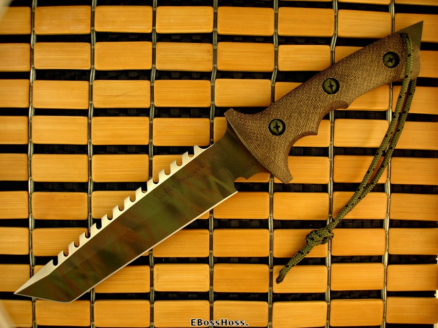 Treeman Knives Ultra Phalanx w/Saw Teeth