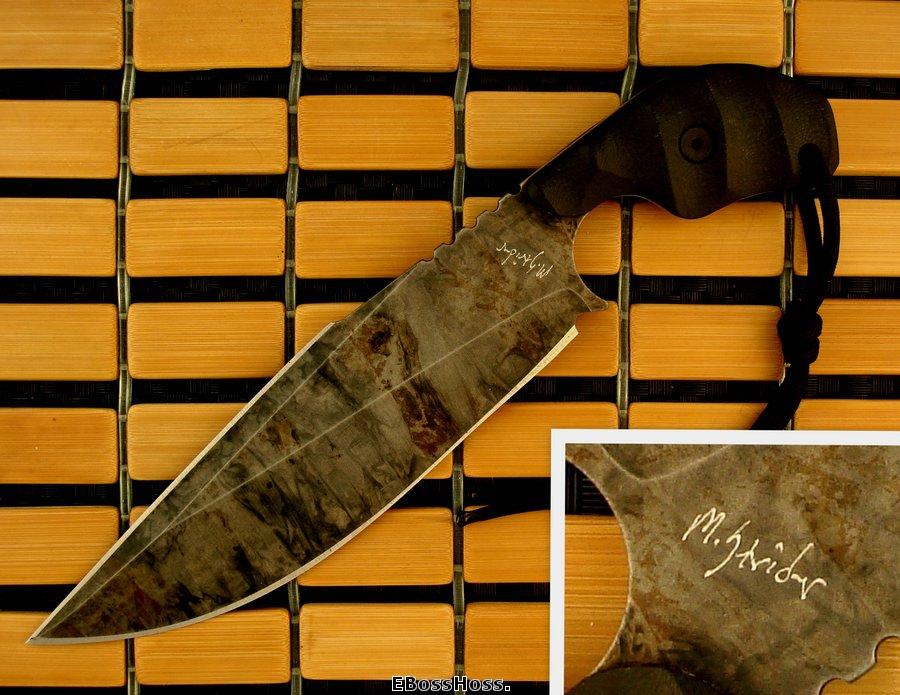 Mick Strider Custom (MSC) XL SLCC Shark Fin Dagger